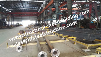 Monopole Towers And Lattice Towers Steel Pole For Wind Power Plant Production Line